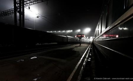 Sibirien I Irkutsk I Bahnhof