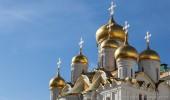 Moskau I Zwiebeltürme im Kreml