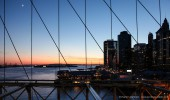 New York I Brooklyn Bridge I Sunset Skyline
