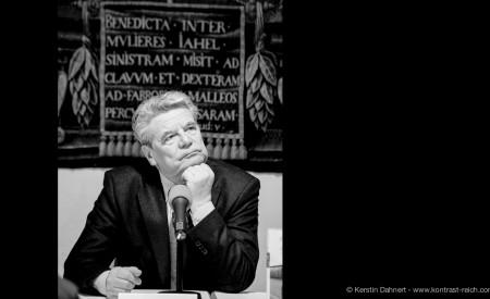 Joachim Gauck I Bundespräsident