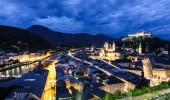 Salzburg I Blau