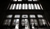 """Budapest I Eingangsportal zum Ost-Bahnhof """"Keleti pályaudvar"""""""