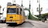 Budapest I Freiheitsbrücke und Tram